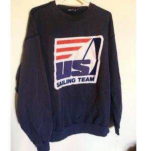 Vintage Nautica U.S. sailing team sweatshirt